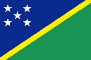 Solomon Islands Large Country Flag - 3' x 2'.